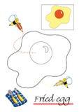 Livro de coloração para crianças, 1 ilustração stock