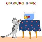 Livro de coloração Foto de Stock Royalty Free
