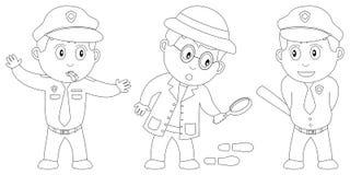 Livro de coloração para os miúdos [8] Imagens de Stock Royalty Free