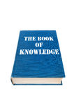 Livro de conhecimento Fotos de Stock Royalty Free