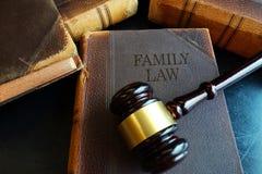 Livro de direitos familiares foto de stock