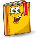 Livro de escola dos desenhos animados Fotografia de Stock Royalty Free