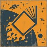 Livro de espaço Imagem de Stock