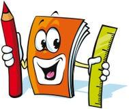 Livro de exercício engraçado Imagem de Stock