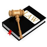 Livro de lei Fotografia de Stock