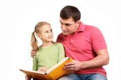 Livro de leitura Imagem de Stock