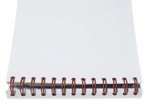 Livro de nota imagens de stock
