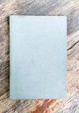 Livro de nota cinzento Foto de Stock Royalty Free