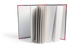Livro de nota duro da tampa Imagens de Stock