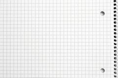 Livro de nota esquadrado. Imagens de Stock