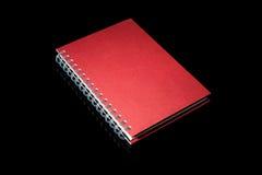 Livro de nota isolado Fotografia de Stock Royalty Free