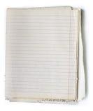 Livro de nota velho Fotos de Stock