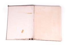 Livro de nota velho Imagem de Stock Royalty Free