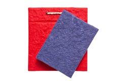 Livro de papel feito a mão Fotos de Stock