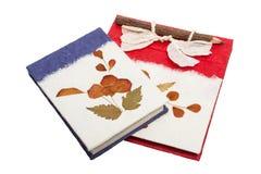 livro de papel feito a mão Foto de Stock Royalty Free