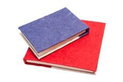 Livro de papel feito a mão Imagens de Stock