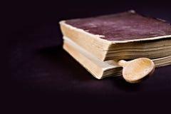 Livro de receitas Fotografia de Stock