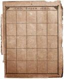 Livro de selos velho Imagem de Stock