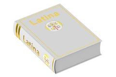 Livro de texto da língua latino, rendição 3D ilustração royalty free