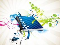 Livro do ícone Foto de Stock