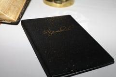 Livro do casamento Imagens de Stock Royalty Free