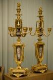 Livro do castiçal do ouro do Mezhyhya Ucrânia Fotos de Stock Royalty Free