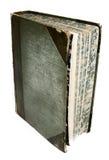 Livro do estilo do vintage com detalhes modelados da página Fotografia de Stock