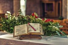 Livro do gospel fotos de stock royalty free