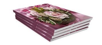 Livro do presente para o dia de são valentim Foto de Stock