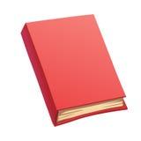 Livro do vermelho dos desenhos animados Fotos de Stock Royalty Free