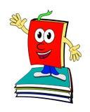 Livro dos desenhos animados Fotos de Stock
