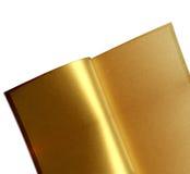 Livro dourado Imagens de Stock