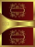 Livro dourado ilustração royalty free