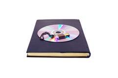 Livro e armazenamento de informação Fotografia de Stock