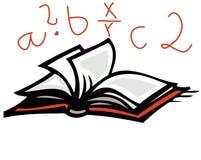 Livro e letras Imagem de Stock