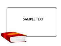 Livro e texto Imagens de Stock