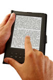 Livro eletrônico Foto de Stock Royalty Free
