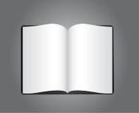 Livro em branco Fotos de Stock Royalty Free