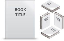 Livro em branco Imagem de Stock