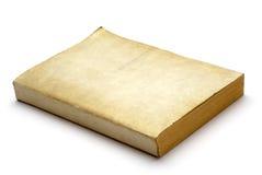 Livro em branco velho Fotografia de Stock