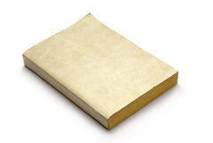 Livro em branco velho Foto de Stock Royalty Free