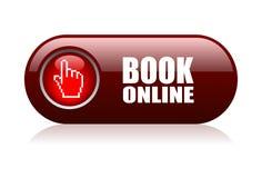 Livro em linha Imagem de Stock
