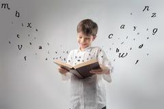 Livro engraçado Imagens de Stock