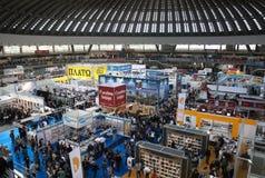 Livro Fair-7 de Belgrado imagens de stock royalty free