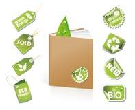Livro - idéia do eco Imagens de Stock Royalty Free