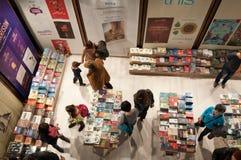 Livro internacional de Gaudeamus e educação 2014 justo Fotos de Stock