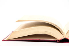 Livro isolado Fotografia de Stock