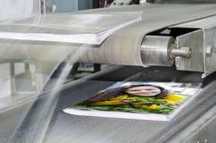 Livro, linha de produção do compartimento foto de stock royalty free