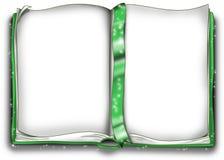 Livro mágico verde Imagens de Stock Royalty Free