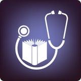 Livro médico Fotografia de Stock Royalty Free
